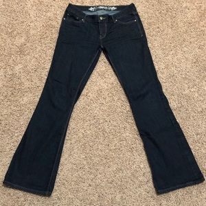 Express Jeans Boot Cut/Slight Flare Size 6R